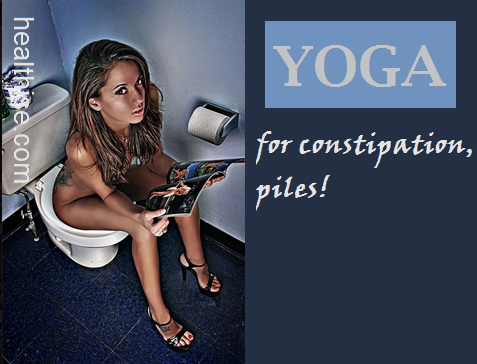 healthise yoga constipation digestion gas