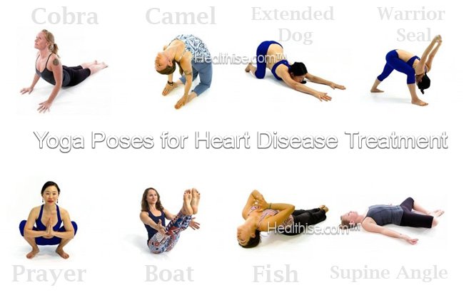 what are yoga poses for heart disease