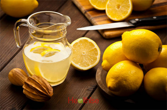 Skin care home remedies lemon almond spinach