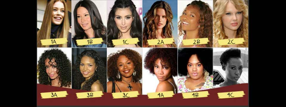 hair types of celebrity- females