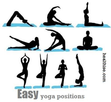 Easy yoga positions for beginners