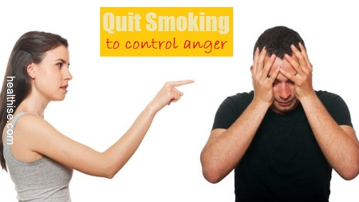 control anger quit smoking treatment