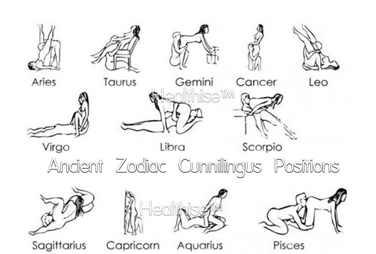 what are zodiac cunnilingus vagina lick positions