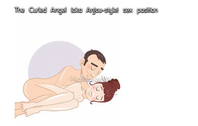 what is healthise The Curled Angel Anjou style sex position