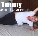 Bedroom Exercises for Flat Stomach