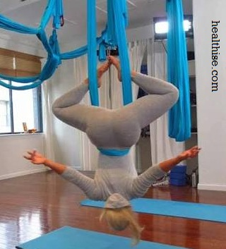 Benefits of Aerial Yoga 1