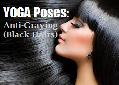 Black Long And Healthy Hair with 5 Yoga Asanas