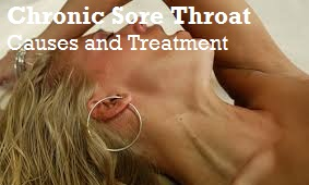 Stomach ache - Chronic sore throat symptoms