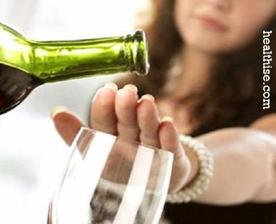Drink less alcohol - Lose weight without Exercise