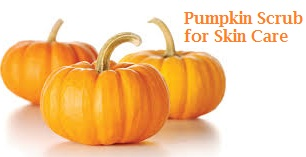 Exfoliating Pumpkin Scrub skin care treatment