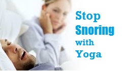 How to Control Snoring Sound With Yoga Exercises