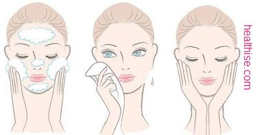 How to wash face - cleaning your face correctly