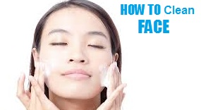 How to wash face - cleaning your face tips