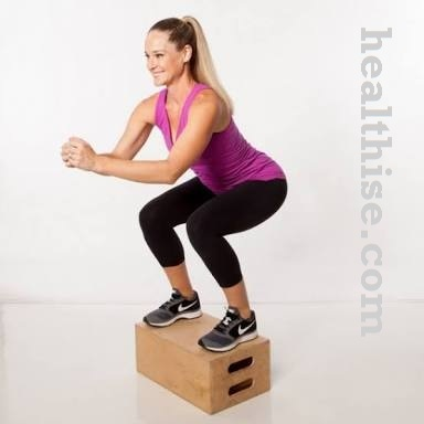 Jump Into Box - Iso Squat 2 Workouts to Attain Sexy Legs