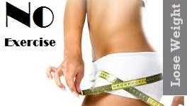 Lose Weight Without Exercise or diet plan