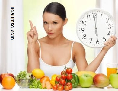 Eat slowly - Lose weight without Exercise