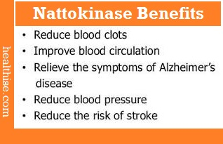 Nattokinase - benefits of health supplements
