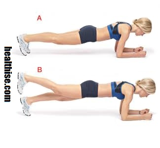 Plank variations - Bedroom Exercises for Sex