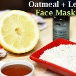 Simple Oatmeal and Lemon Juice Mask for Acne Scars/Blemished Skin