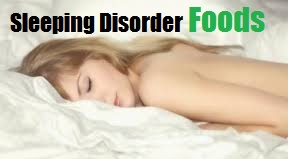 Sleeping disorder - foods to make you sleep better