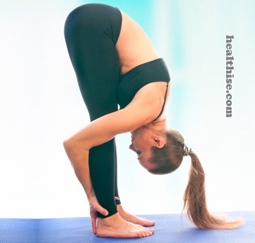 Uttanasana (Standing Forward Bend Pose) Baba Ramdev Yoga For Hair Loss Control
