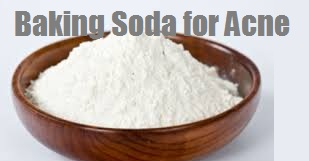 baking soda for acne cure treatment