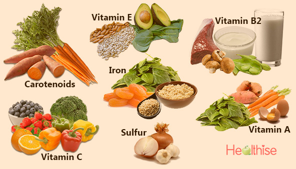 foods to look young anti-aging wrinkle free