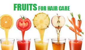 fruits for hair CARE AND growth