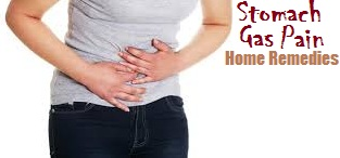 home remedies for stomach gas pain