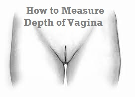 measure depth of vagina