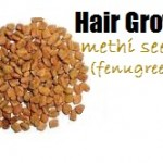 Home Treatment for Hair Growth with Methi Seeds (Fenugreek)