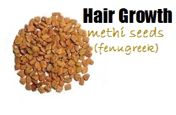 methi seeds fenugreek for hair growth and scalp treatment cure