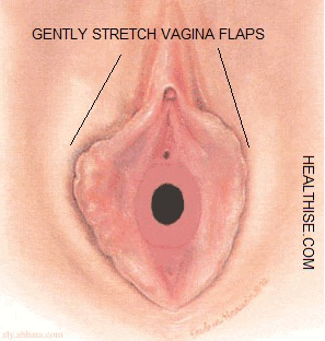 vagina virginity DETECTION at home - Check hymen of vagina