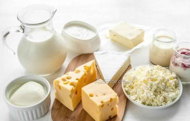 how dairy products balance pitta dosha