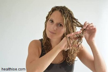 Gently finger combing is safer hair styling