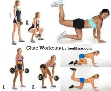 Glute Workouts - Exercises to Big Buttocks