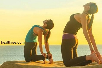 Yoga pose - Natural Breasts Enlargement with Yoga Exercises