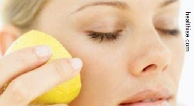 blackheads removal Tips with the lemon juice