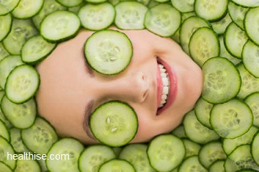 cucumber for skin - home remedies