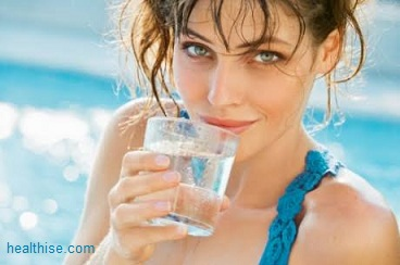 drink water a lot on acne and pimple problems