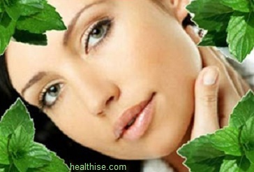 mint leaves for pimples on face