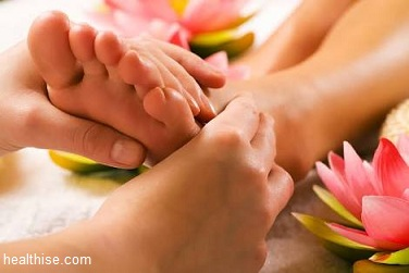 foot massage process explained