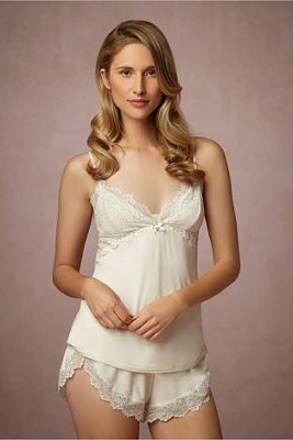 camisole lingerie in visual foreplay