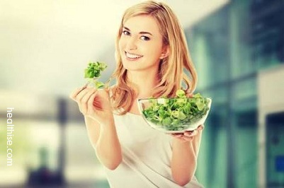Buttocks and Thigh Care - Green vegetable helps