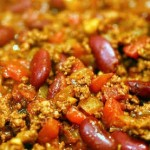 Red Bean Chili Con Carne is Perfect Cold Weather Dish!