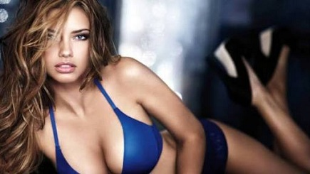 Secrets of hollywood actress beauty revealed - Adriana Lima