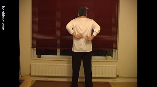 Step 2 Self Massaging Back to Relieve Back Pain