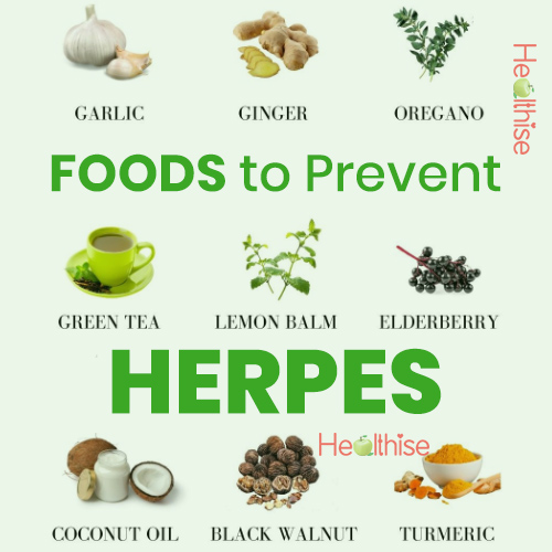 herpes prevention foods avoid herpes infection