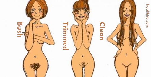 types of pubic hairs and cleaning tips