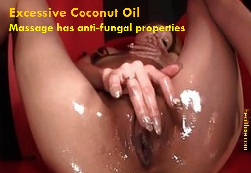 Coconut oil anti-fungal properties help cure vaginal infection